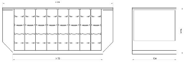 Lower Deck Container-IATA Type 6-IATA Prefix: ALF-ATA: LD-6